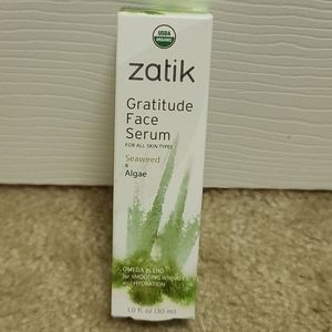 NWT Zatik Gratitude Face Serum